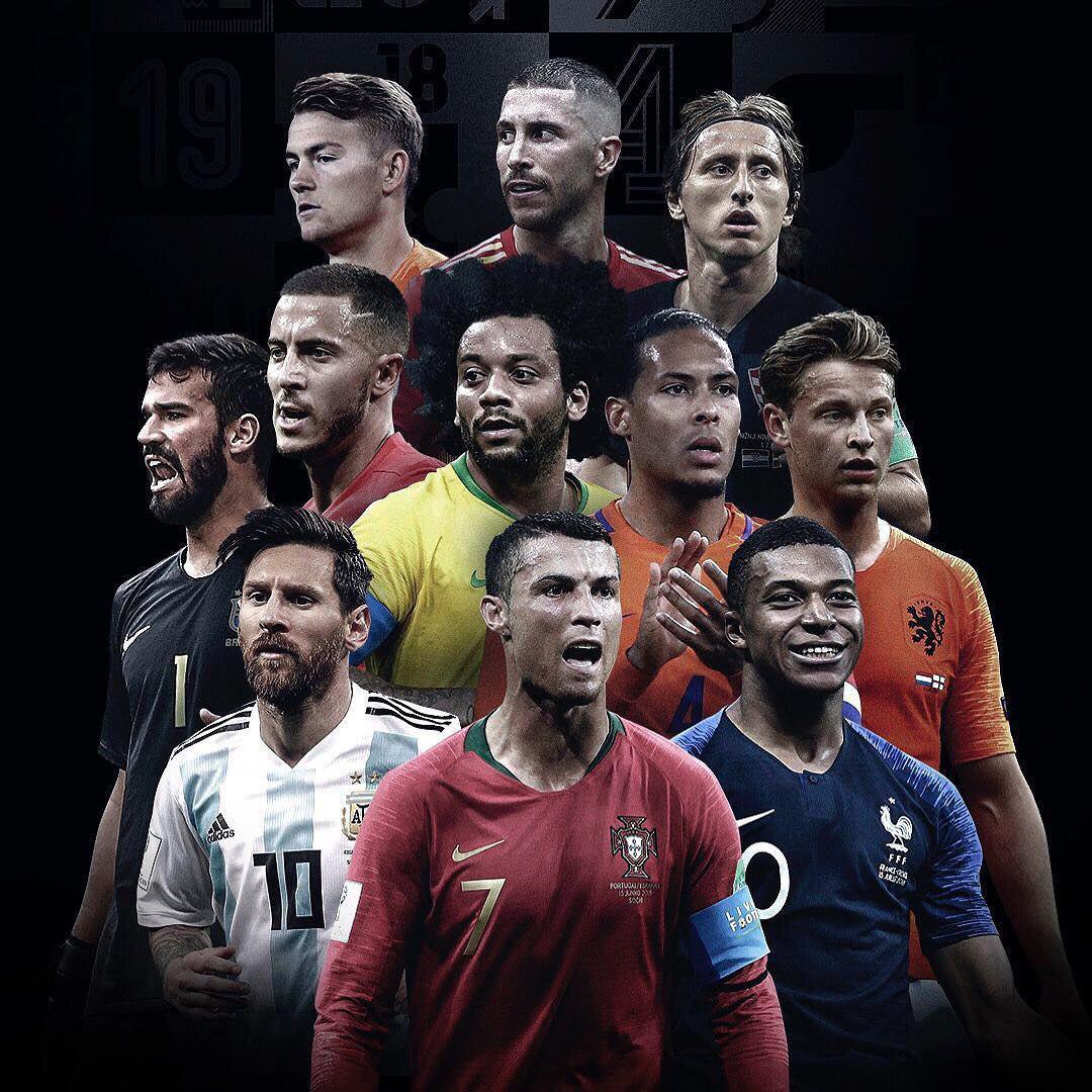 رئال مادرید تیم منتخب سال فیفا